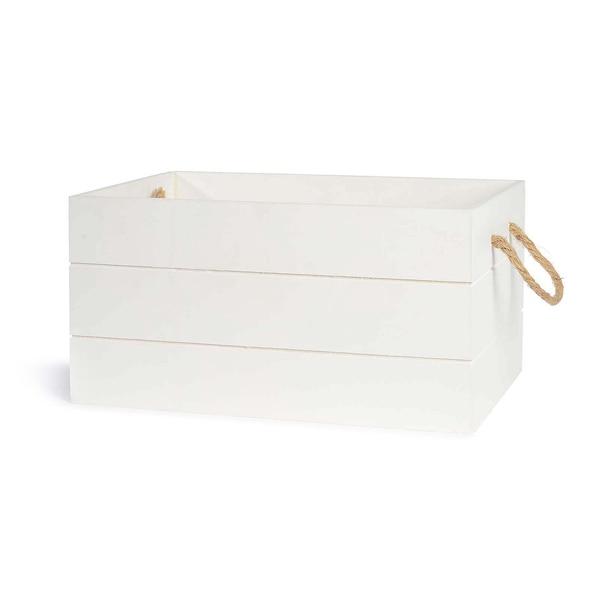Box, weiß