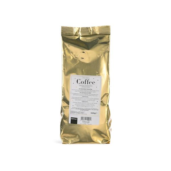 Cold Brew Coffee, ohne Farbe