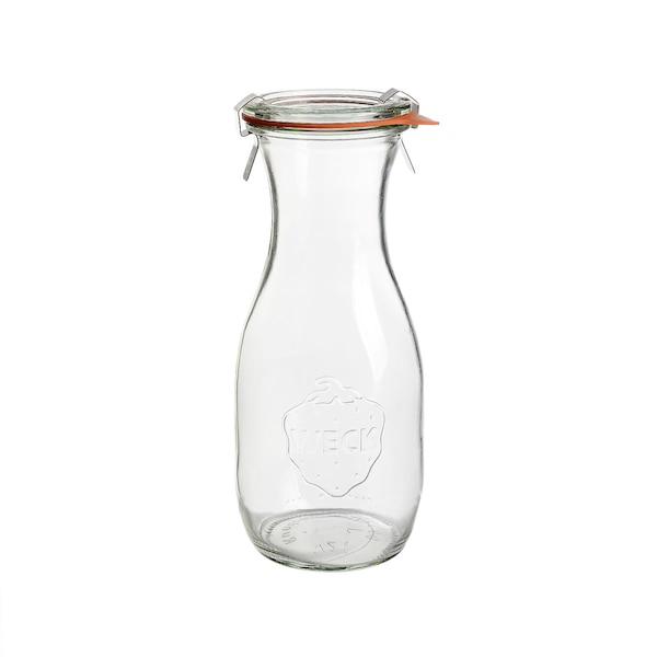 Einweckflasche, klar