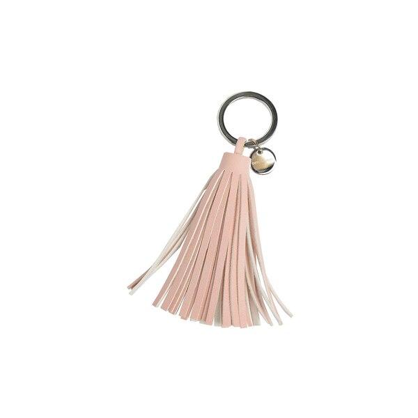 Schlüsselanhänger Quaste, rosa