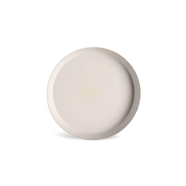 Kerzenteller, weiß