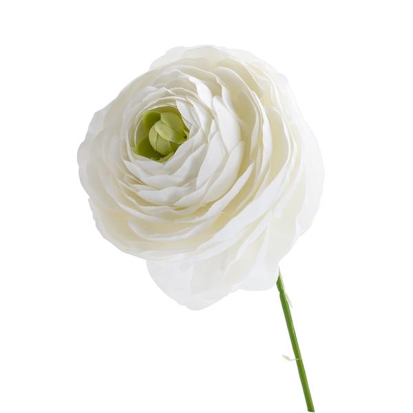 Blumenpick Ranunkel, weiß