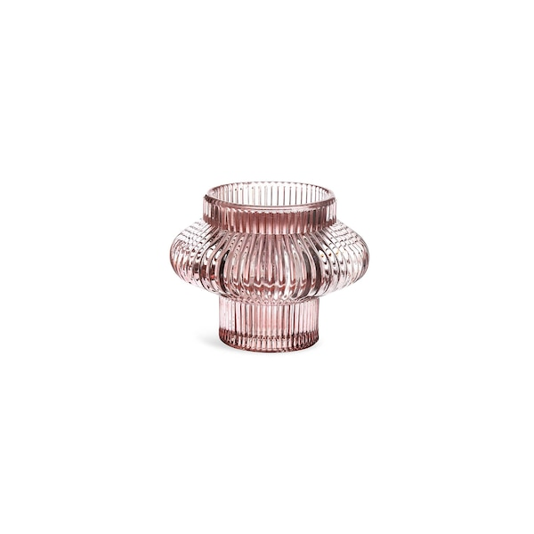 Kerzenhalter 2 in 1, rosa