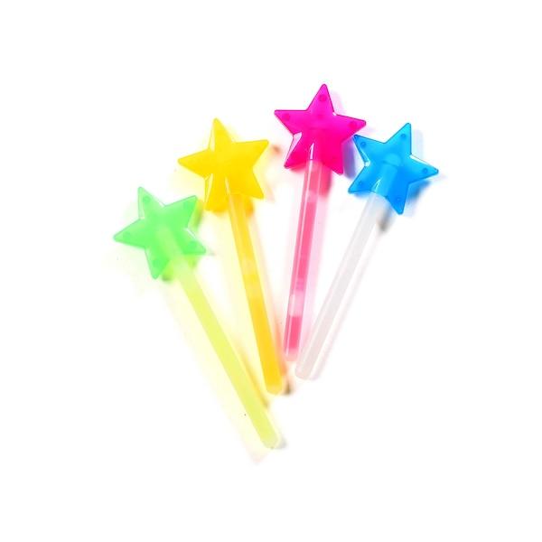 Knicklicht Stern, bunt