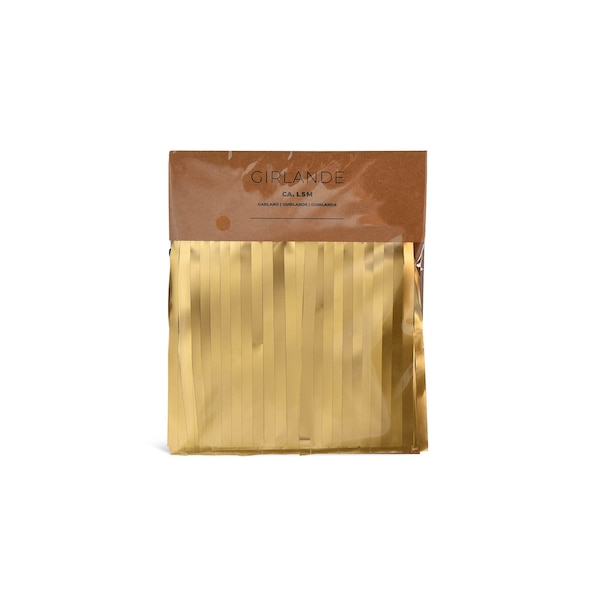 Girlande Lametta, gold