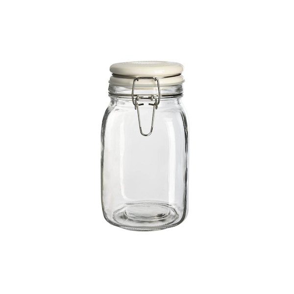 Vorratsglas, weiß
