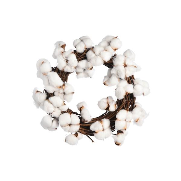 Kranz Cotton, weiß