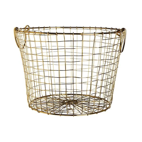 Aufbewahrungskorb Wire, gold