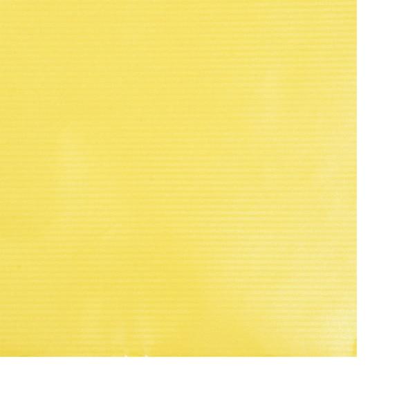 Kraftpapier Metallic, gelb
