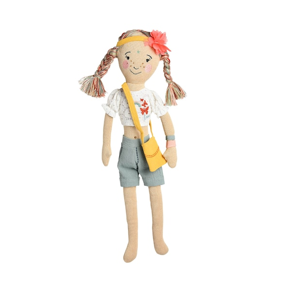 Puppe Hippy Girl, bunt