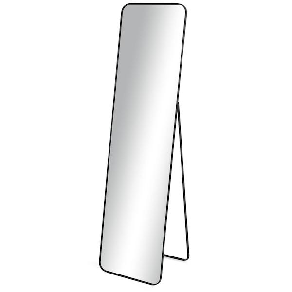 Stand-/Wandspiegel DEPOT Evi, schwarz