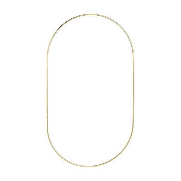 Metallring, oval, gold