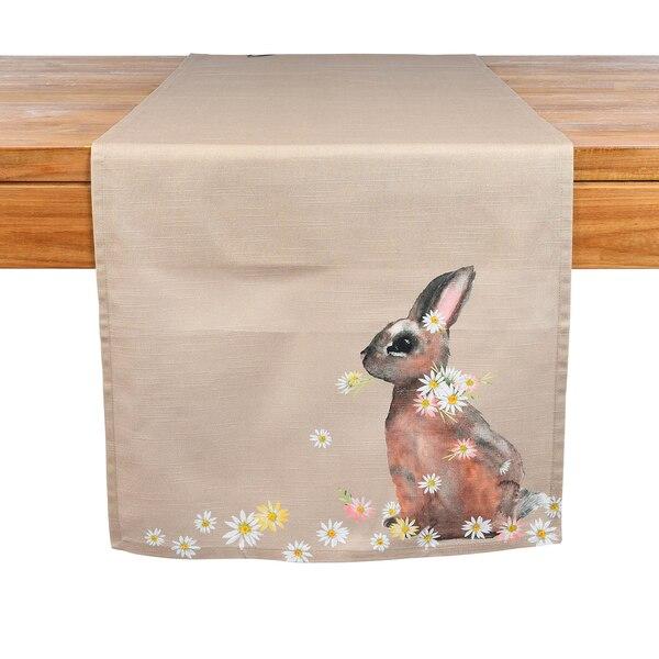 Tischläufer Rabbit Daisy, natur
