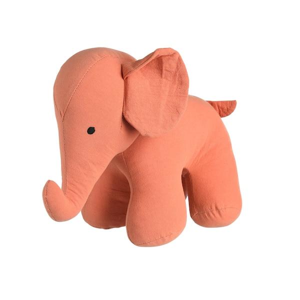 Stofftier Elefant, altrosa