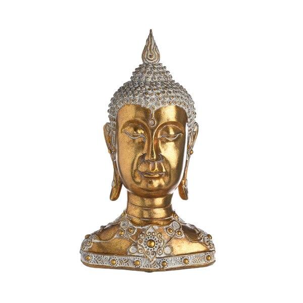 Kopf Buddha, gold