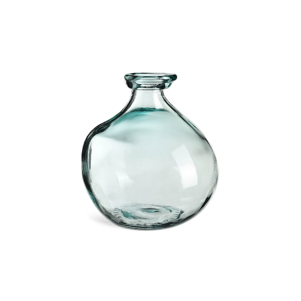 Vase Bottle, blaugrün