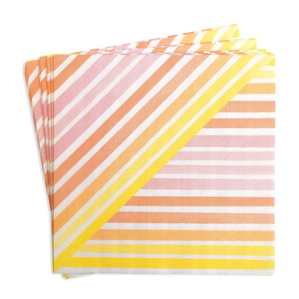 Serviette Aquastripe, pastell