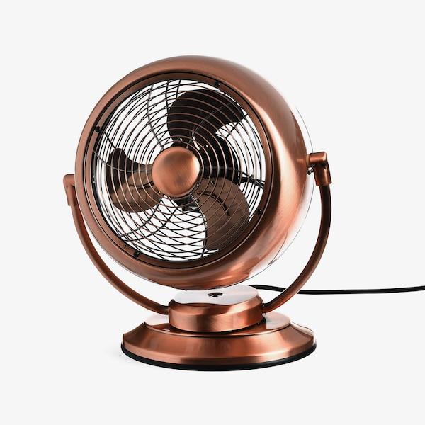 Windmaschine Vintage, kupfer