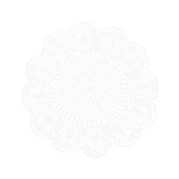 Tischset aus Spitze, weiß