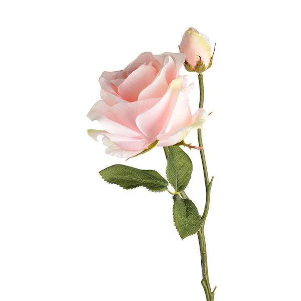 Kunstblume Rose, pink