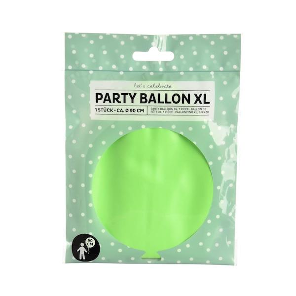 Luftballon XXL, grün