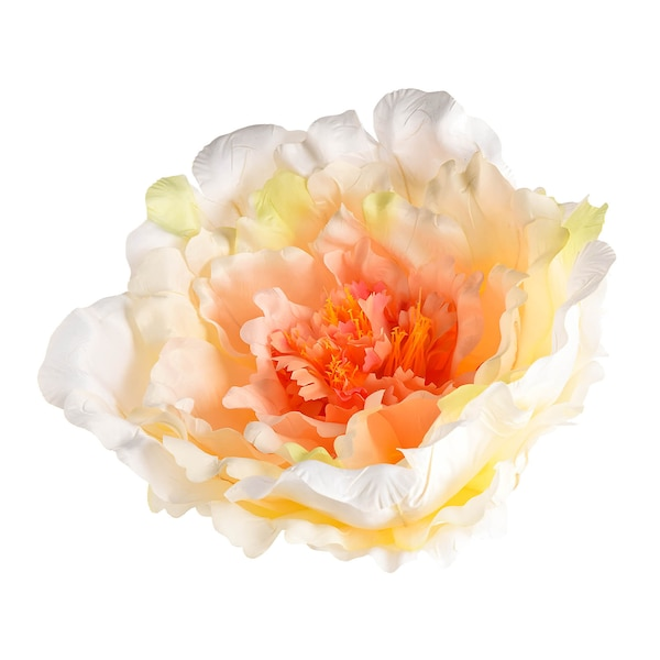 Kunstblüte Peonie, lachs