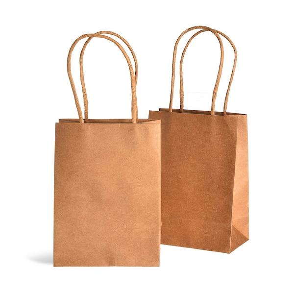 Geschenktüte aus Kraftpapier, natur