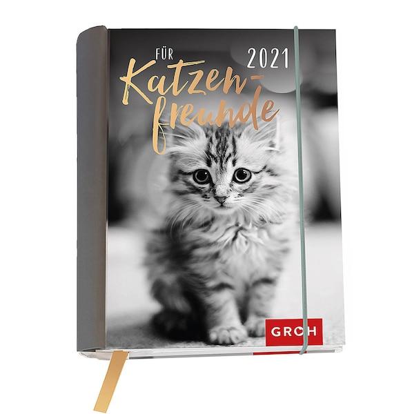 Terminplaner 2021 Für Katzenfreunde, ohne Farbe