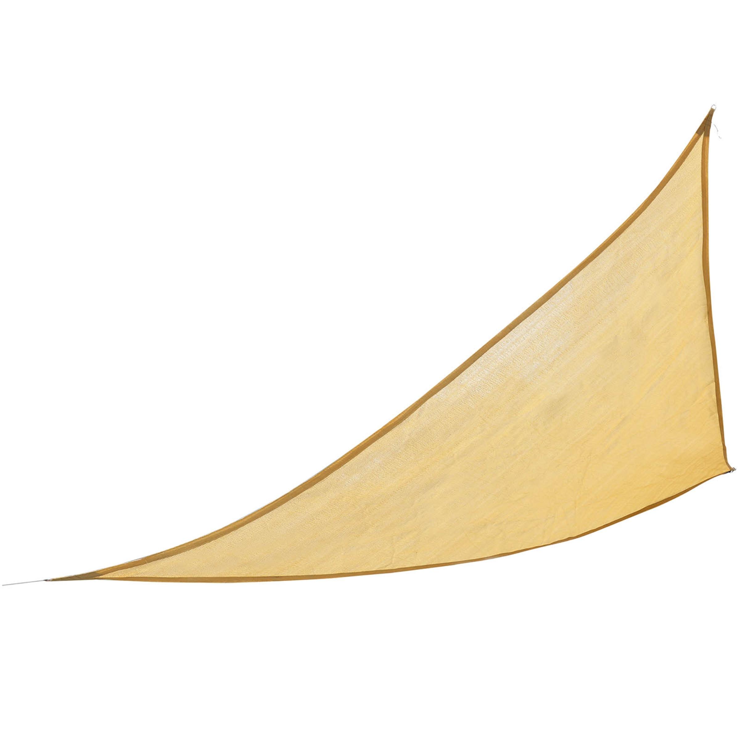 Sonnensegel ca. 3,6m, beige