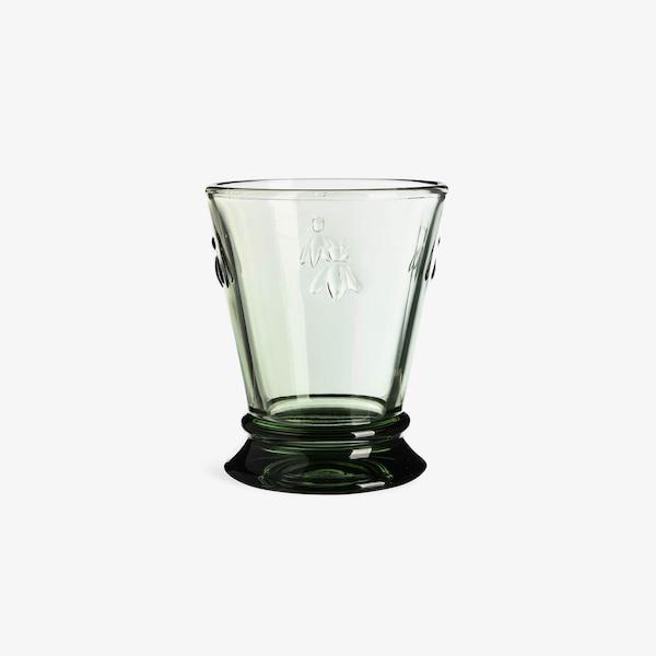 Trinkglas Biene, grün