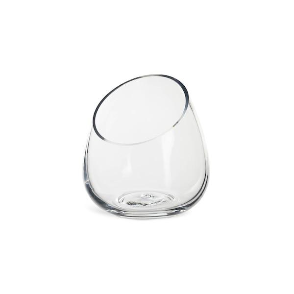 Vase Schräg, klar