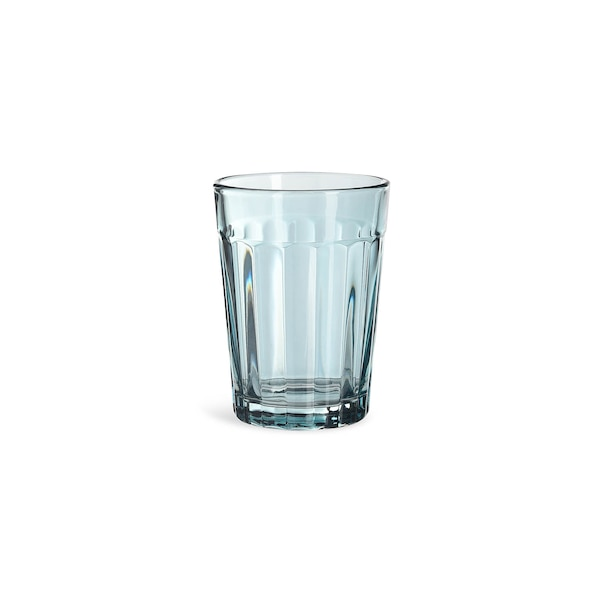 Trinkglas, blau