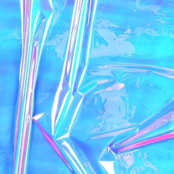 Film d'emballage, irisé, multicolore