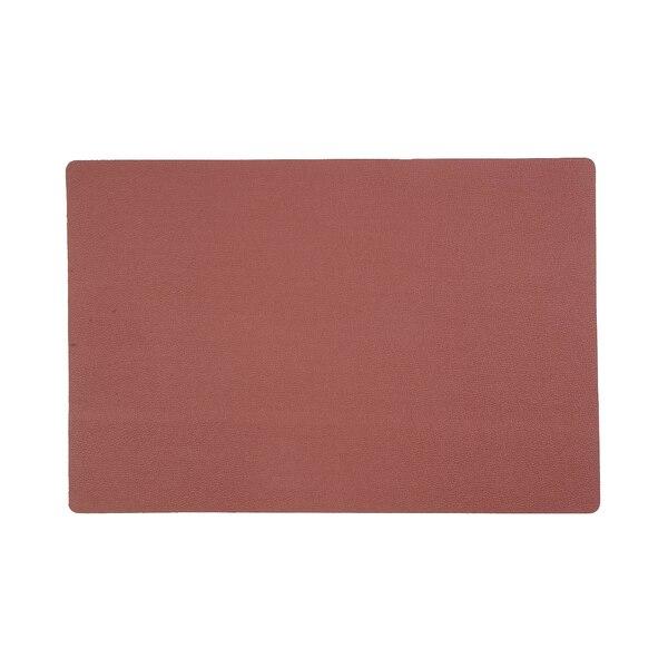 Tischset Skin, rotbraun