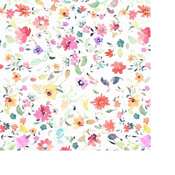 Geschenkpapier Fleur, bunt