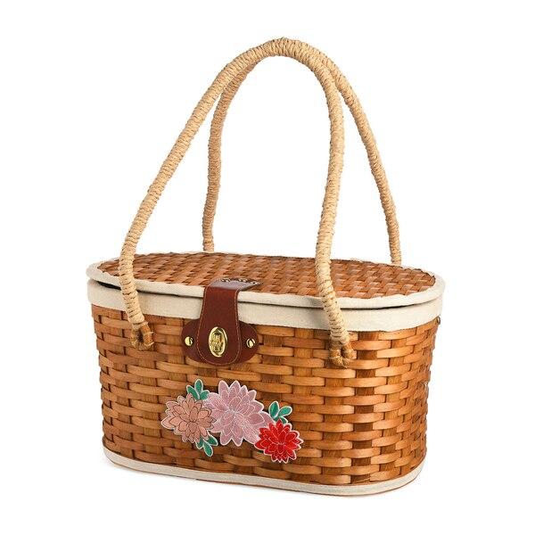 Picknickkorb Stichy, natur