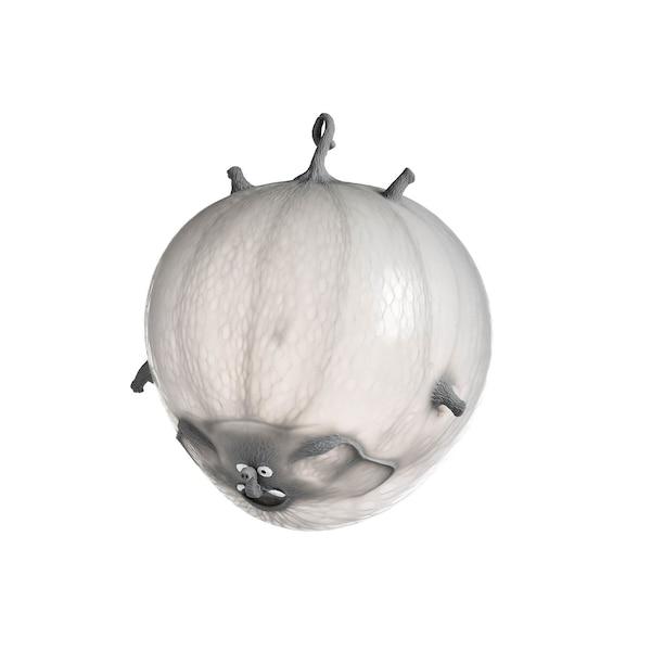 Luftballon Elefant, grau