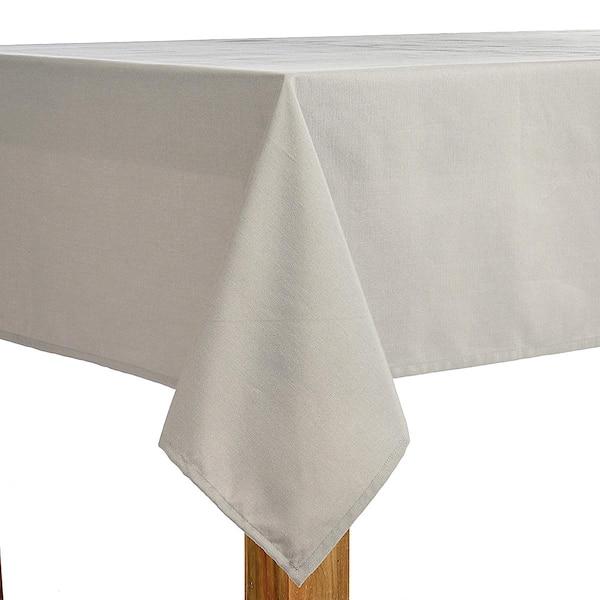 Tischdecke Uni, grau