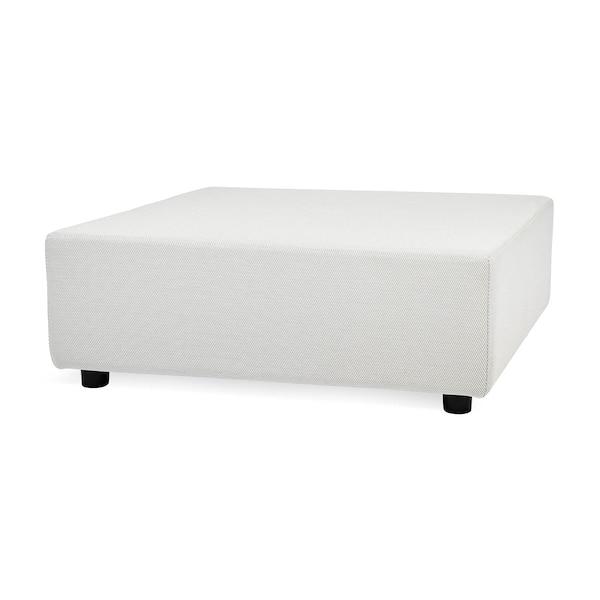 Outdoor-Sitzelement Vik, quadratisch, modular, hellgrau