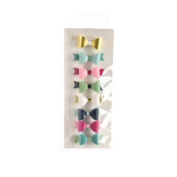 3D Sticker Bows small, bunt
