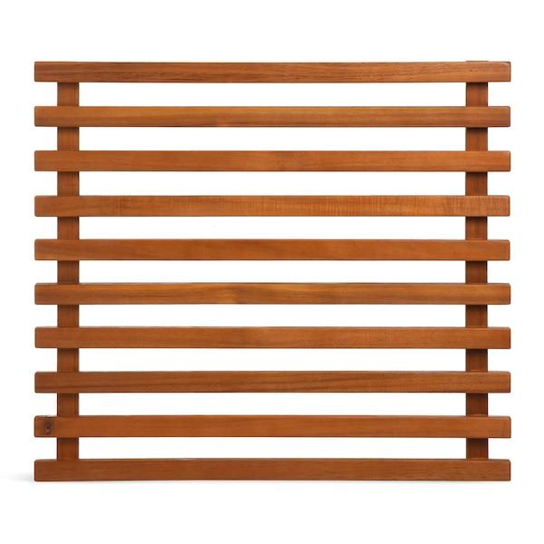 Pflanzelement für die Wand aus Akazienholz, natur