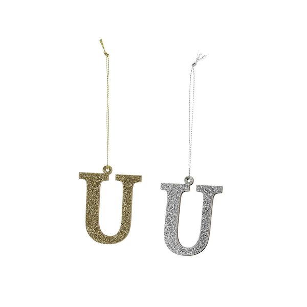 Anhänger Monogramm U, bunt