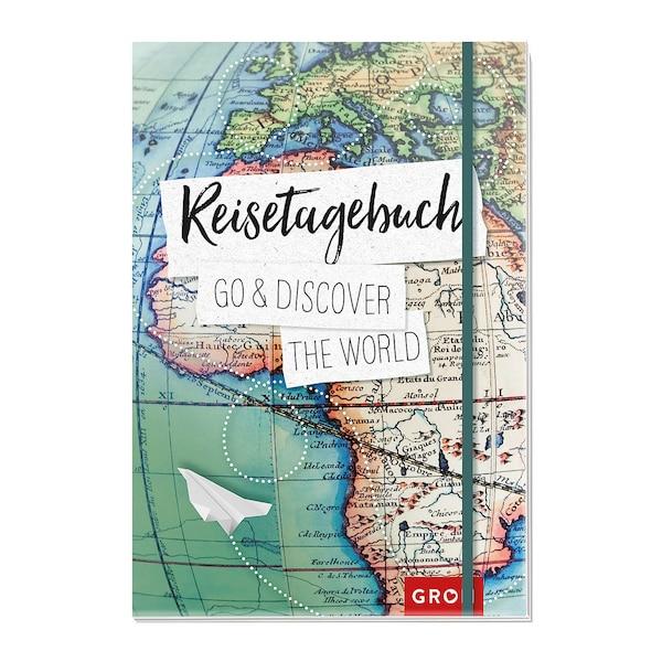 Reisetagebuch Go & discover the world, ohne Farbe