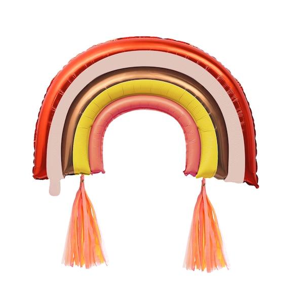 Folienballon Rainbow, rosa