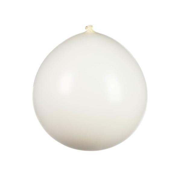 Luftballon XL, weiß