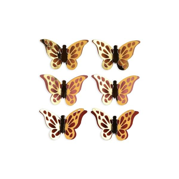 Sticker Schmetterling, bunt