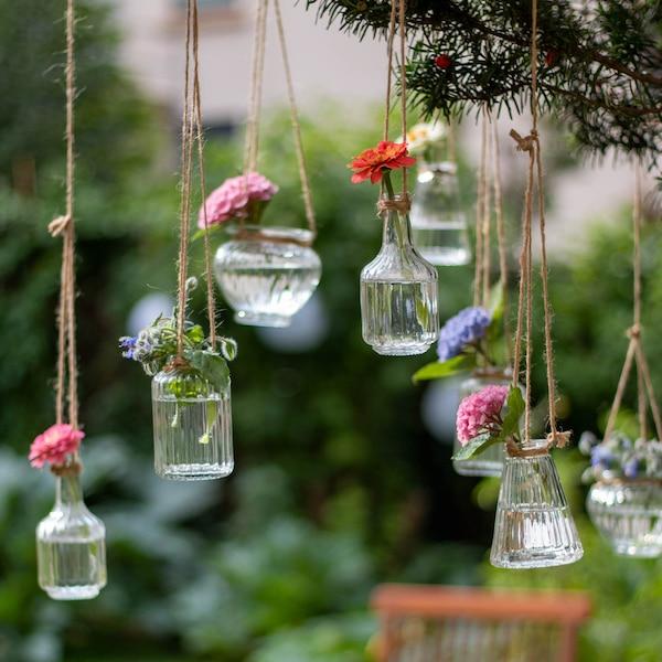 Vase Glas, klar