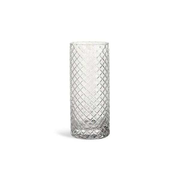 Teelichtglas Raute, klar