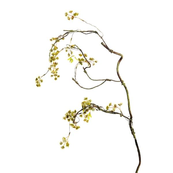 Kunstzweig Moosblüte, grün