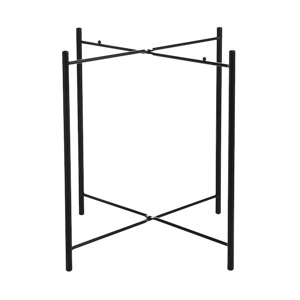 Tischgestell aus Metall, schwarz
